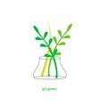 ecological green concept vector image