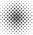 Black white greek cross pattern background