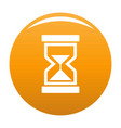 cursor loading element icon orange vector image