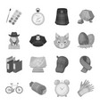 education taxi animals and other web icon in vector image vector image