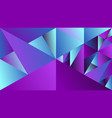 geometric dynamic minimal multicolored gradient vector image vector image
