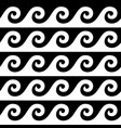 greek pattern seamless design ancient vase vector image vector image