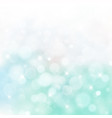 lights on blue and green background bokeh circle vector image