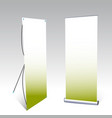 two banner displays vector image vector image
