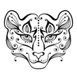 Tiger tattoo vector image