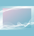 abstract banner background design line blend vector image vector image