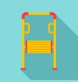 amusement kid tool icon flat style vector image