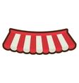 cartoon store shopping online emblem vector image vector image