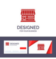 creative business card and logo template shop vector image vector image