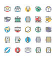 Education Cool Icons 6 vector image vector image