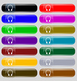 Headsets icon sign Big set of 16 colorful modern
