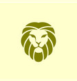 lion logo design template vector image vector image