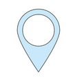 location pointer pin vector image vector image
