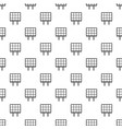 solar panel pattern seamless vector image vector image