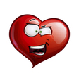 Heart Faces Happy Emoticons What The vector image