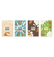 almond milk dairies package design template diet vector image vector image