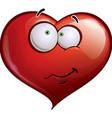 Heart Faces Happy Emoticons Wandering vector image vector image