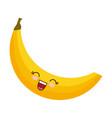 Kawaii banana icon