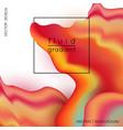 liquid marble texture design vector image vector image