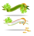 saint patricks banners vector image vector image