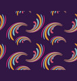 seamless pattern abstract wavy element of vector image