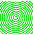 white green round abstract vortex hypnotic spiral vector image
