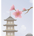 Japan Background vector image