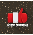 Merry christmas greeting card or background