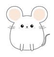 mouse face head body kawaii animal cute cartoon