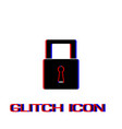 padlock icon icon flat vector image vector image