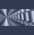 steel grey perspective and abstract background vector image