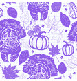 thanksgiving seamless pattern with turkeys vector image vector image