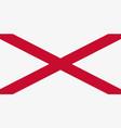 the saint patricks saltire flag of northern irel vector image