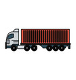 truck icon image vector image vector image