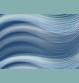 white waves of dark blue background abstract vector image vector image