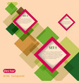Abstract web design vector image vector image