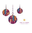 colorful birthday candles Christmas ornaments vector image vector image