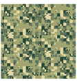 Digital camouflage seamless pattern vector image vector image