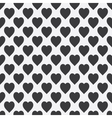 Abstract seamless monochrome pattern vector image vector image