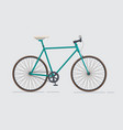 classic urban bike city road bicycle vector image vector image