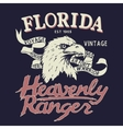 Eagle is a heavenly ranger vector image vector image