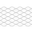 hand woven mesh fence made stainless wire vector image vector image