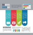 infographic various diagrams vector image