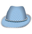 isolated traditional hat vector image