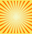 sun rays background vector image