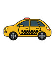 taxi or cab icon image vector image vector image