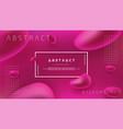 abstract fluid liquid background design vector image vector image