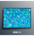 background template with mosaic gradient texture vector image vector image