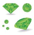 Diamonds vector image vector image