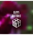 isometric gift box icon vector image vector image